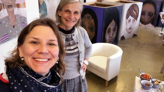Happy together Maria Wolfram ateljeeaamiainenjpg