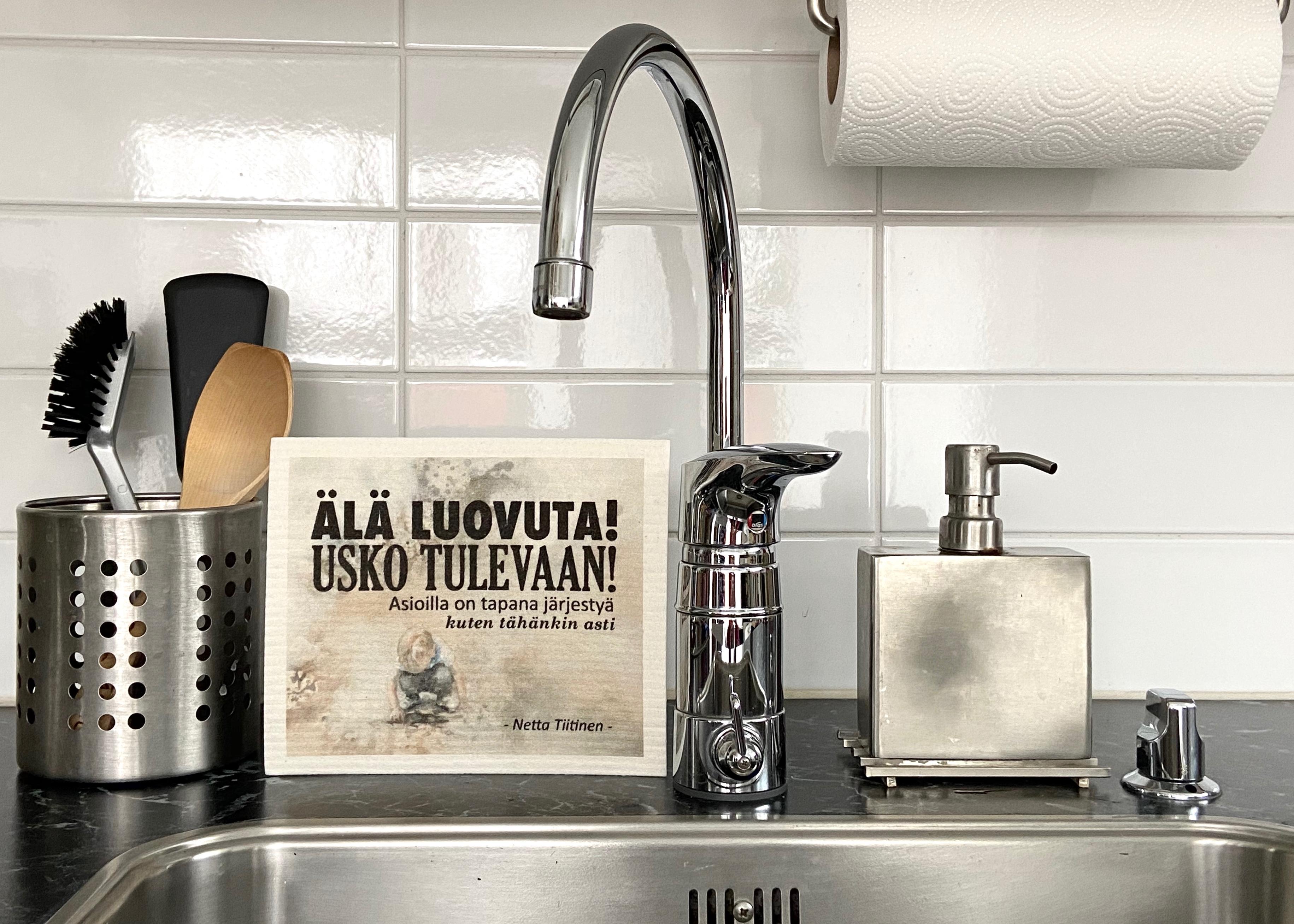 Tiitisen tiskirätit ASIOILLA ON TAPANA JÄRJESTYÄ - 2